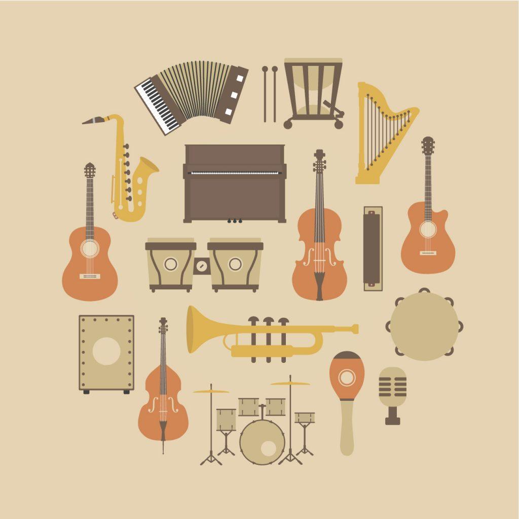 Klanginstrumente selbst basteln